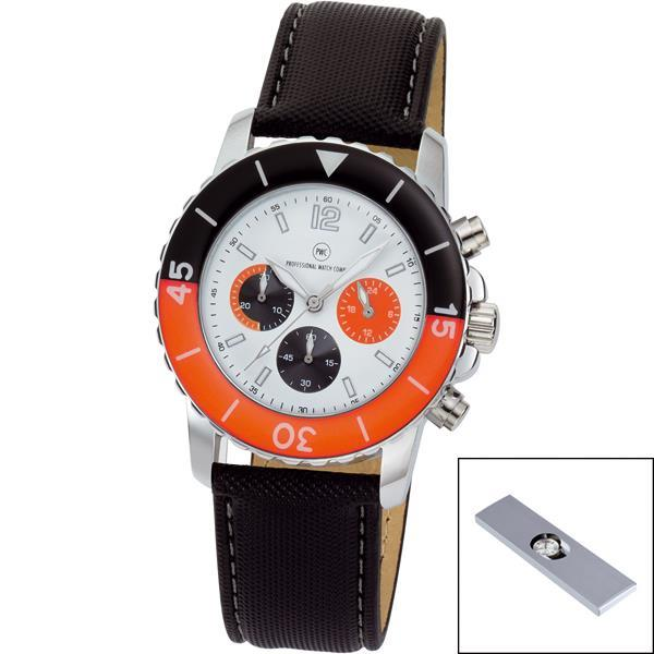 Chronograph ´Spectra Chrono weiß/orange´